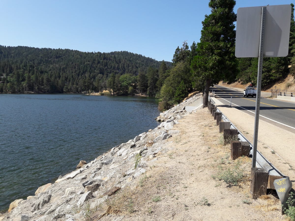 The drive up to Lake Gregory is fairly quick from anywhere in LA!