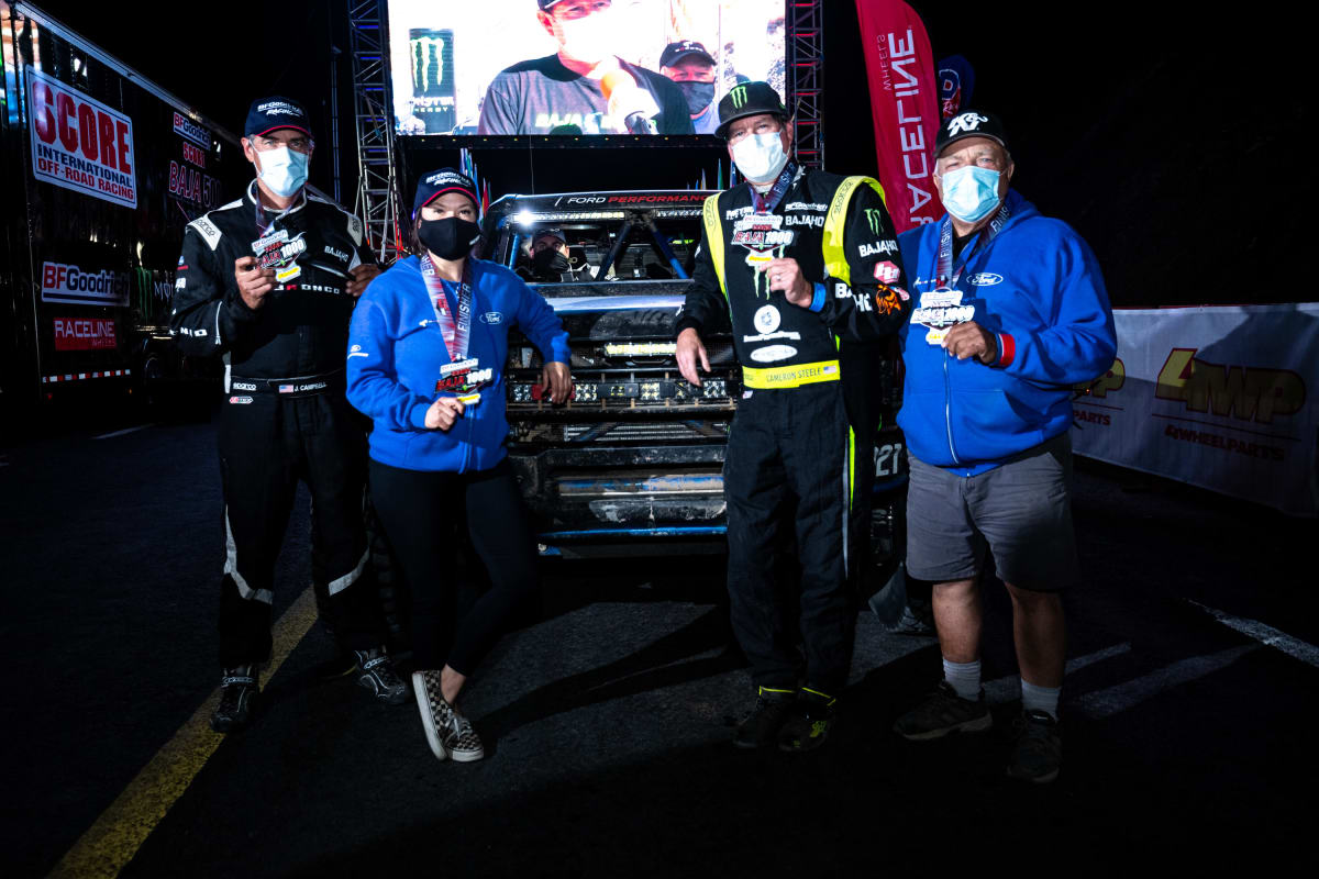 The Ford Bronco R Racing Prototype finished the 2020 Baja 1000 in just over 32 hours.