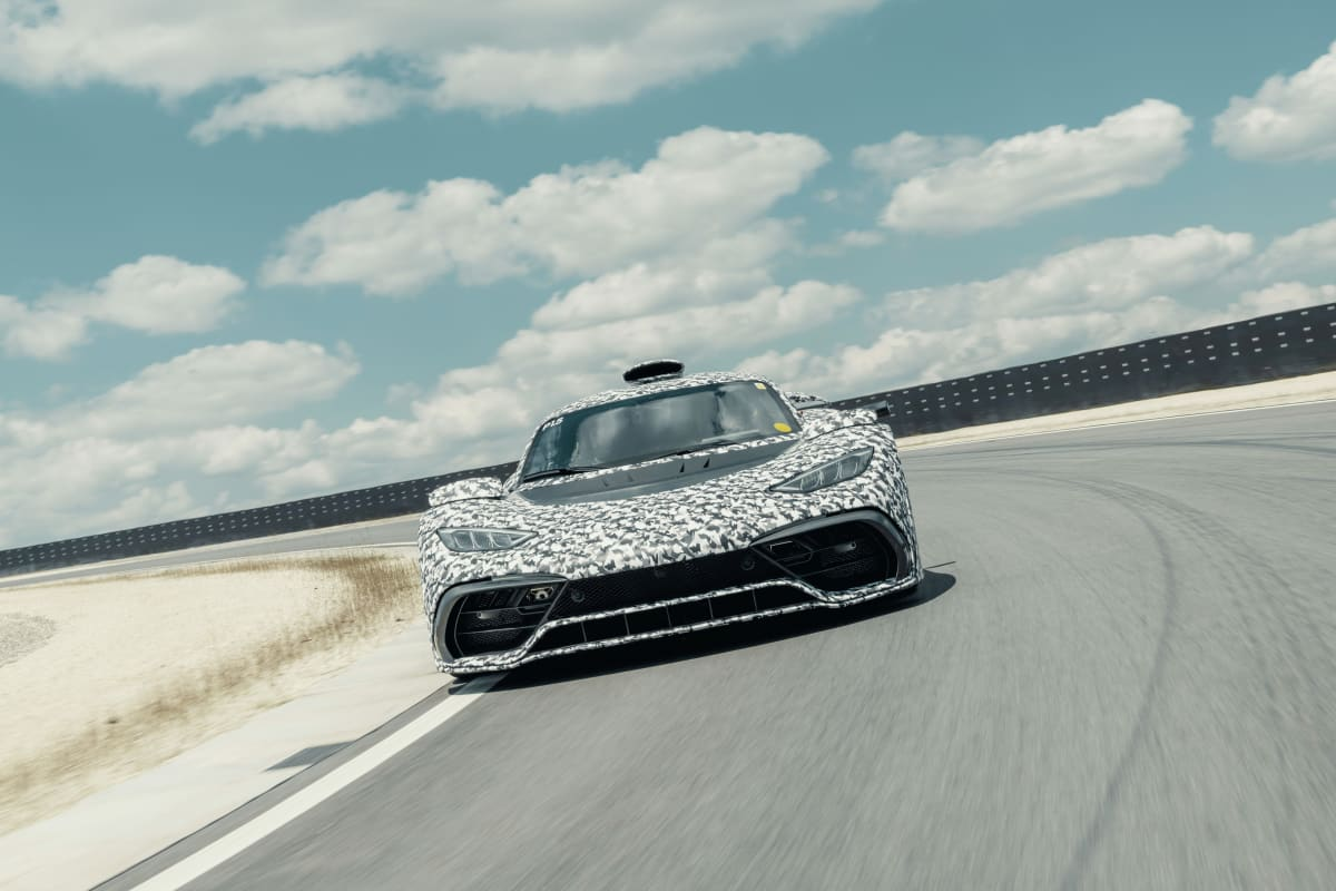 The Mercedes-AMG Project ONE hypercar moves closer towards production.