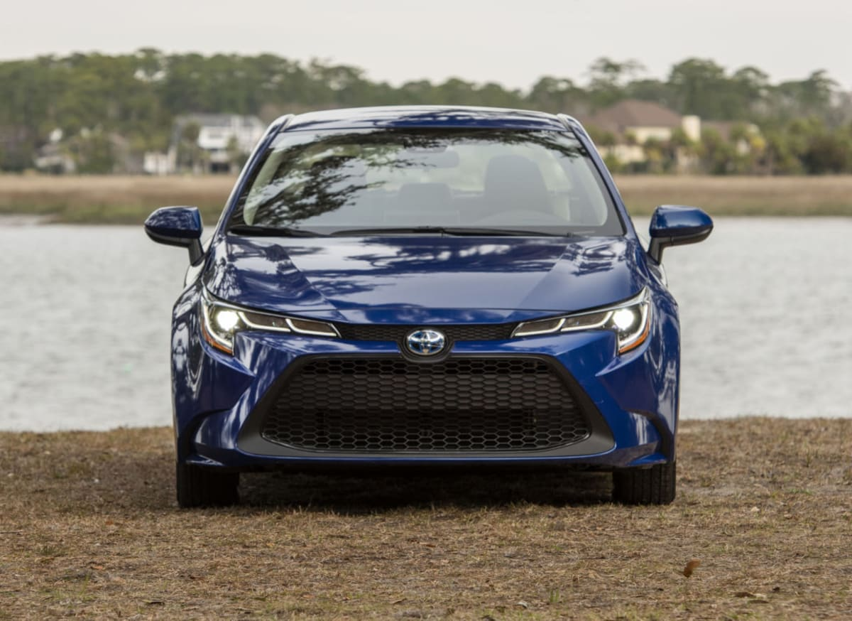 Tastefully restrained styling on the new Corolla