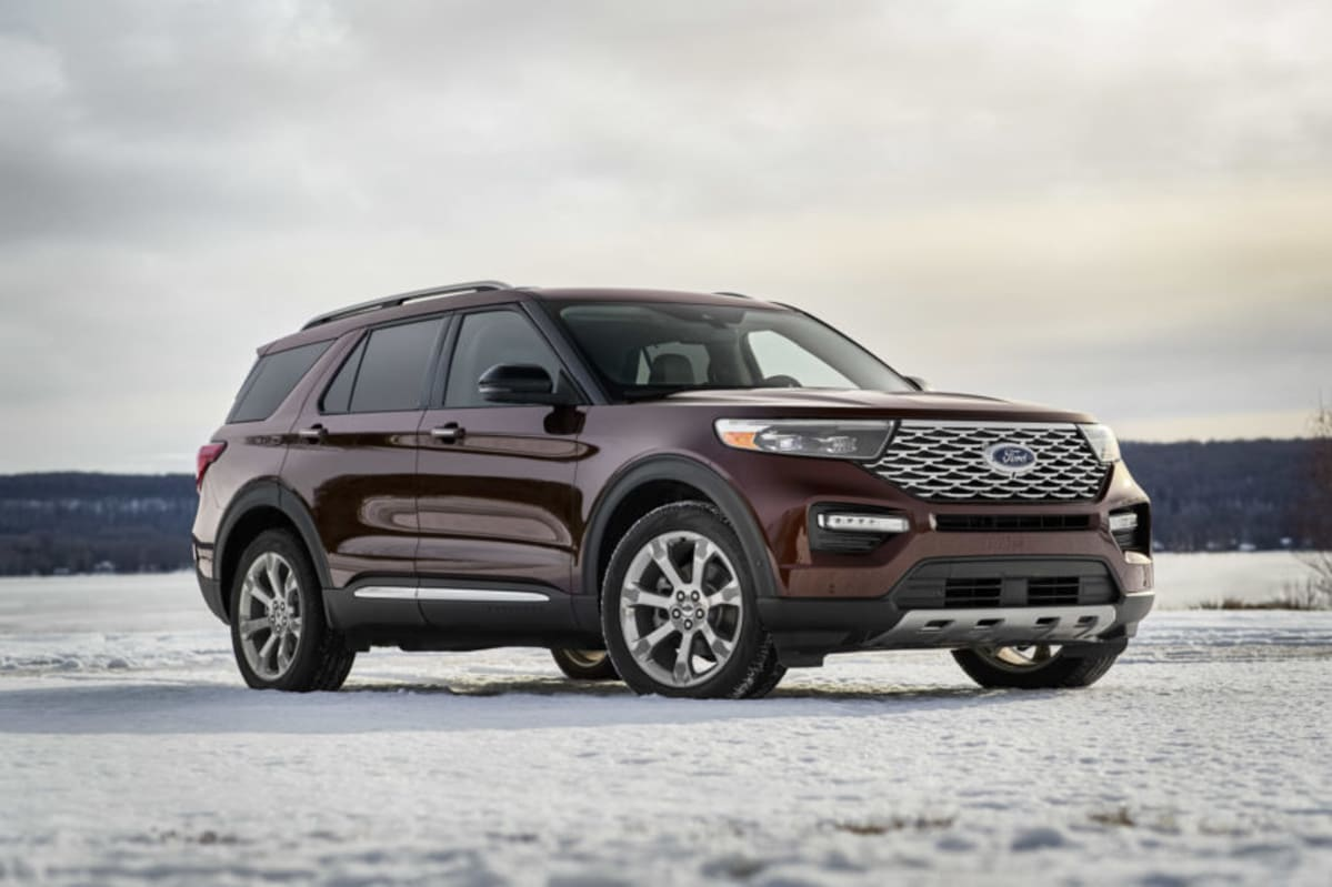 Ford debuts an all new 2020 Explorer. Above: The Platinum edition.