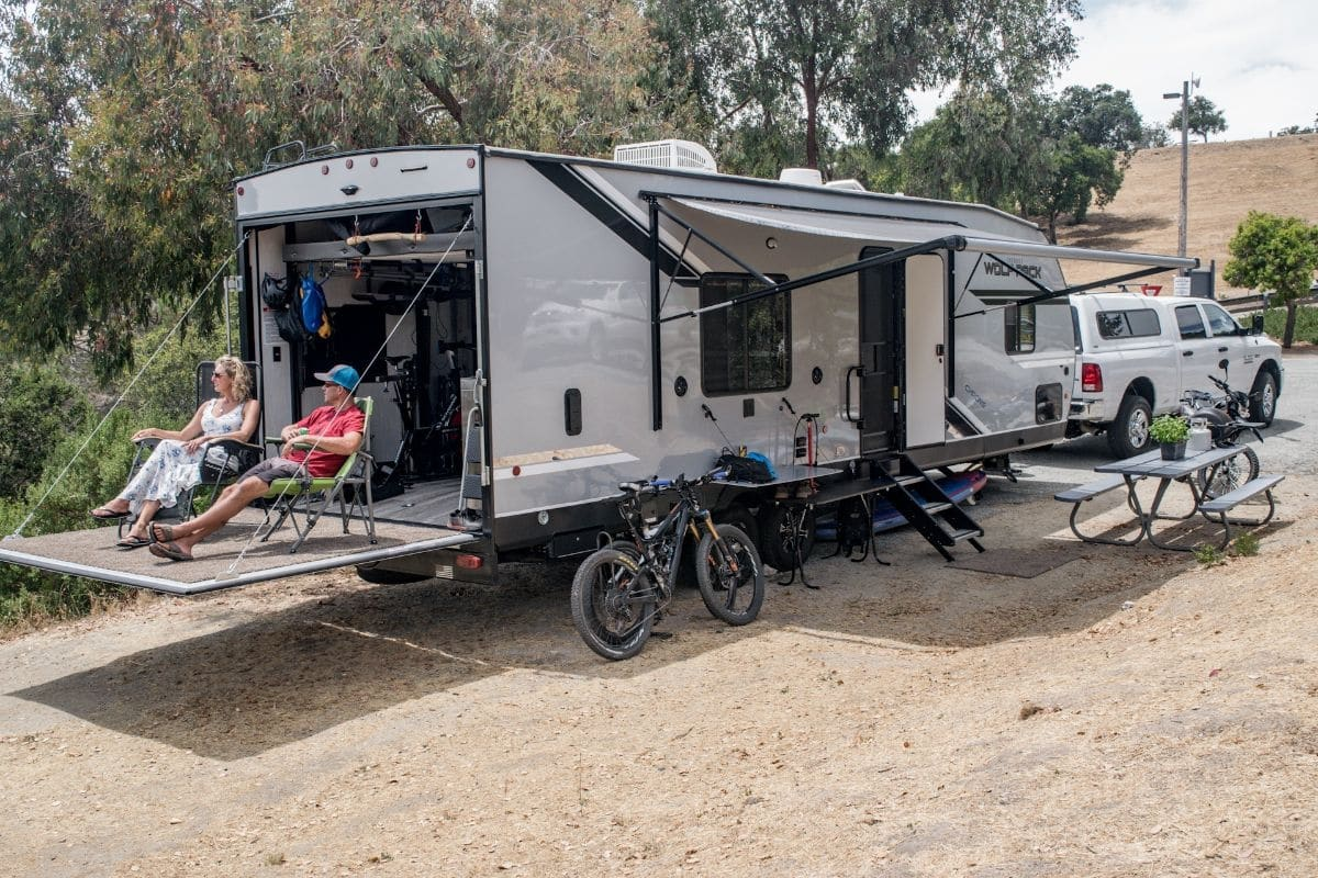 Wide assortment of enhancements coming to Laguna Seca Recreation Area camper camping trailer