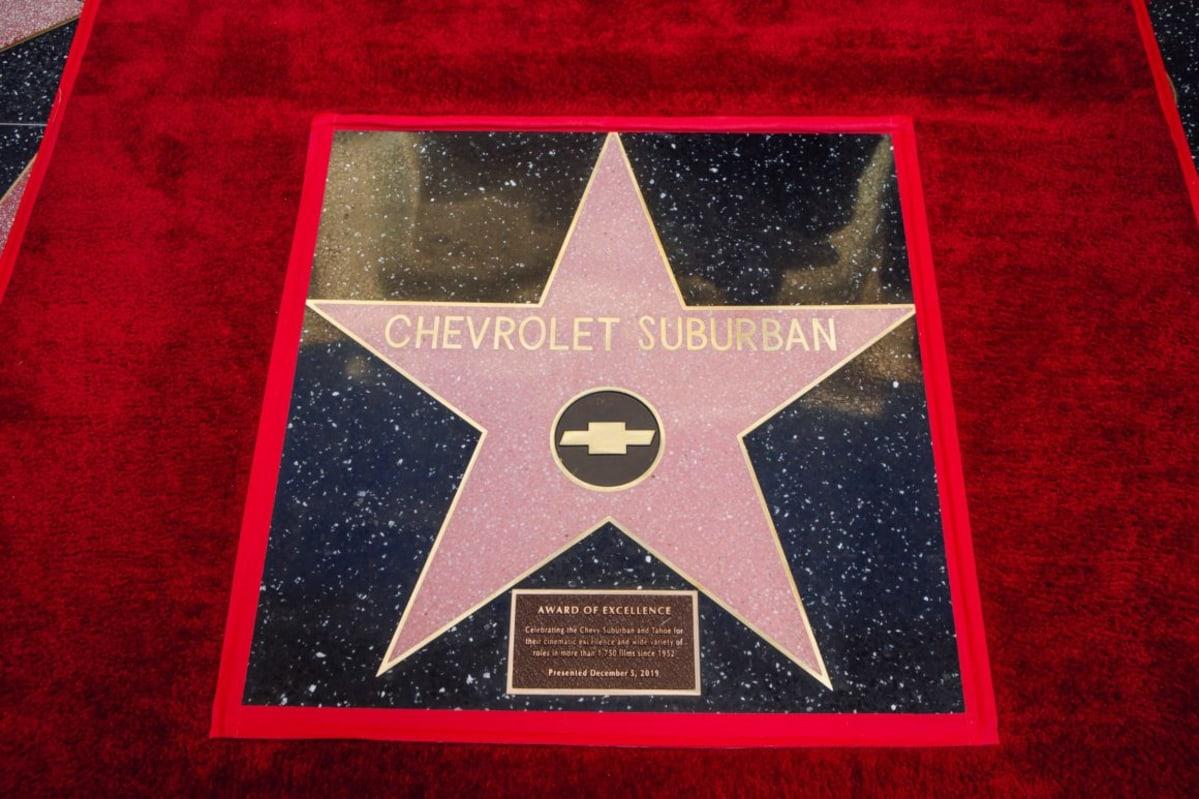 Chevrolet Suburban Receives Hollywood Star