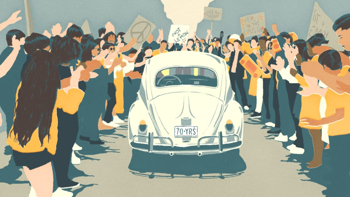 The end of the Volkswagen Beetle
