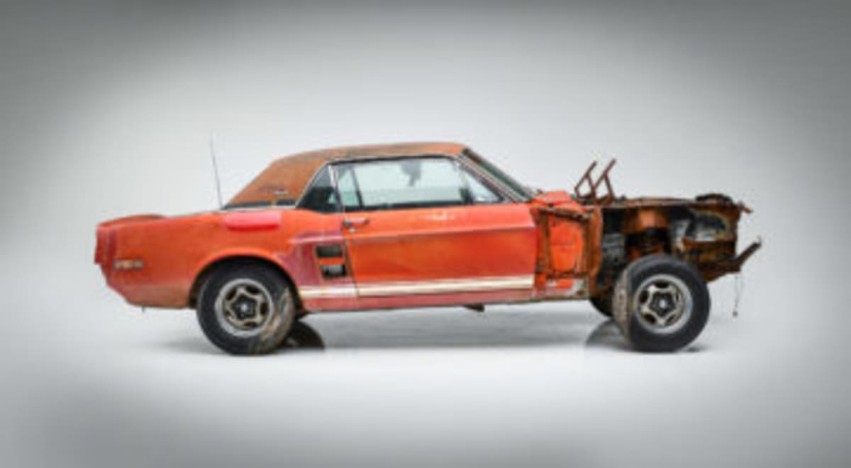 1967 Ford Shelby GT500 'Little Red' unrestored