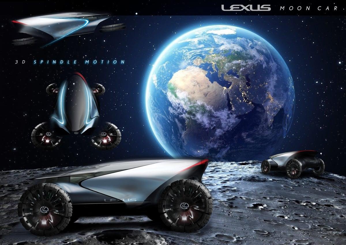 Lexus Lunar Cruiser, by Keisuke Matsuno