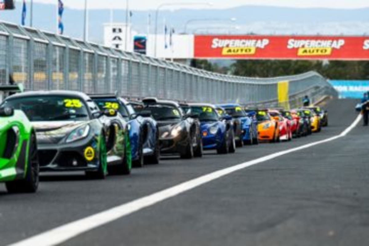 Lotus Track Day at Mount Panorama