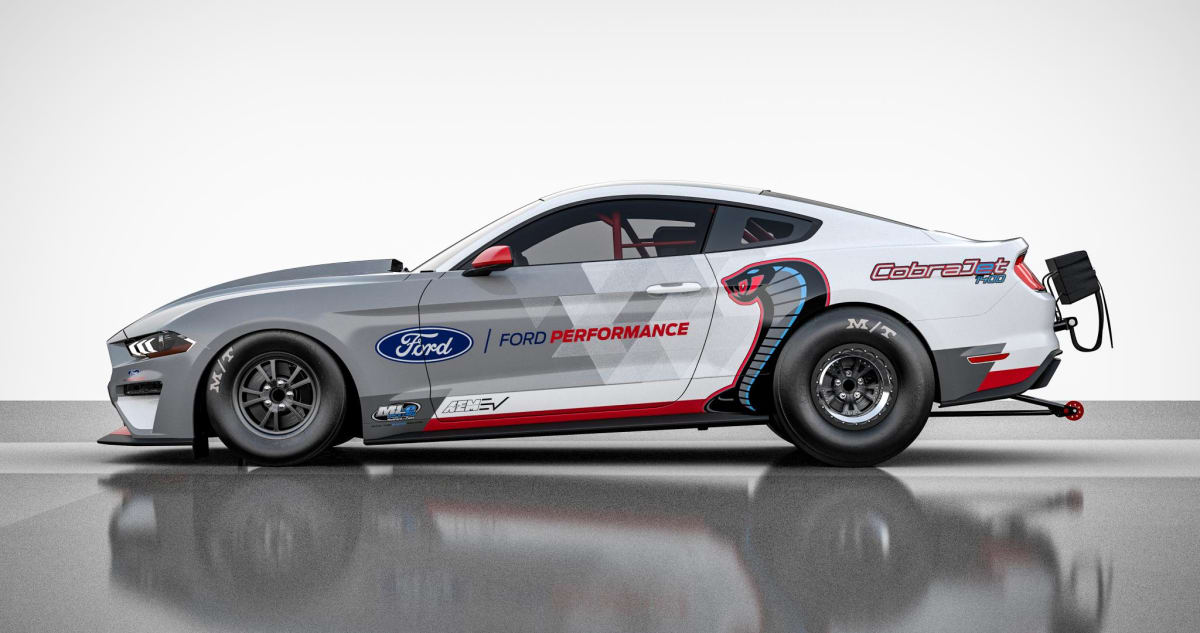 All-Electric Mustang Cobra Jet 1400