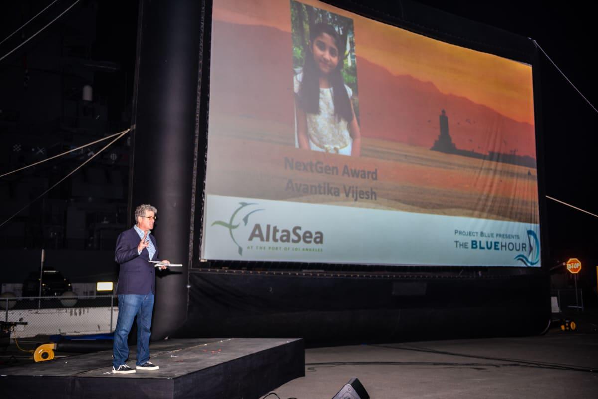 Avantika Vijesh - Project Blue and the AltaSea NextGen Award