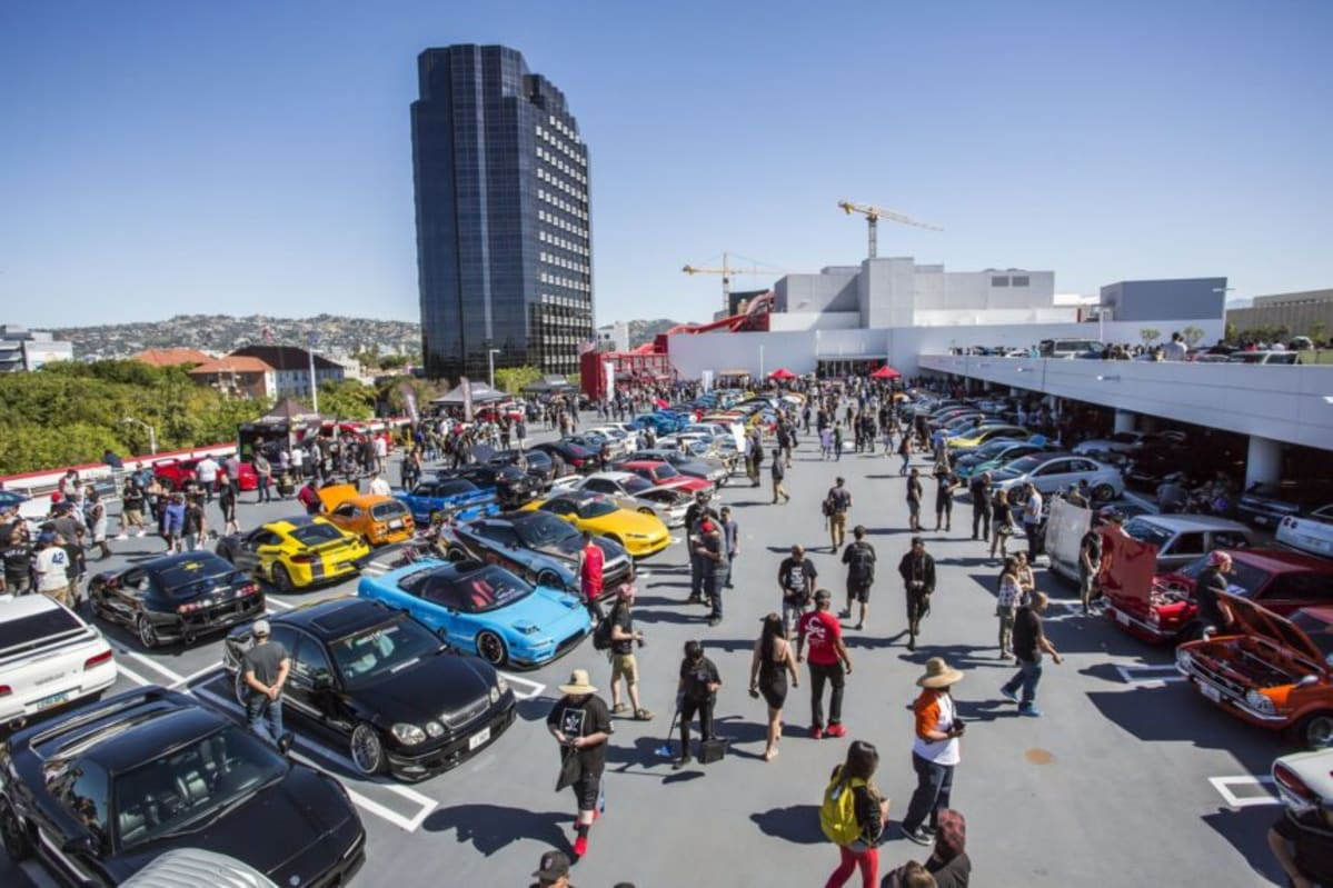 Cars & Coffee at the Petersen Automotive Museum