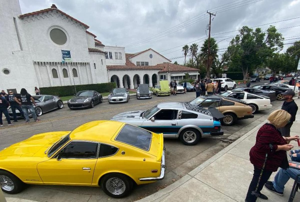 "A very impressive group: ""Mr. K"" 240Z, a 280 ZXR race homologation special and a 10th Anniversary Black Gold Edition filling the first three spots."