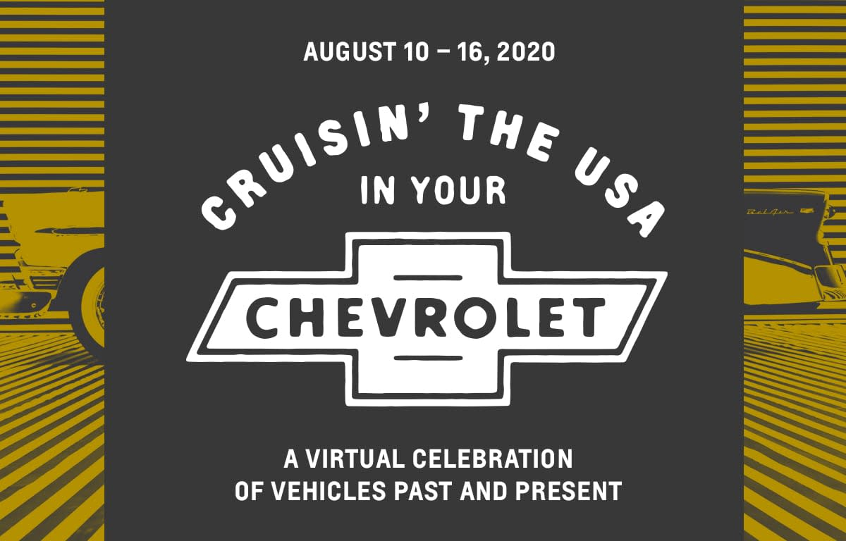 Chevrolet to Host Week-Long Virtual Car Festival called Cruisin' the USA in your Chevrolet.