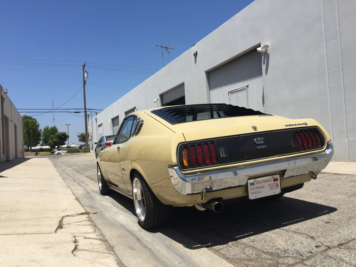 This 1977 Toyota Celica won the Future Collector Car Show featured during Petersen Car Week.