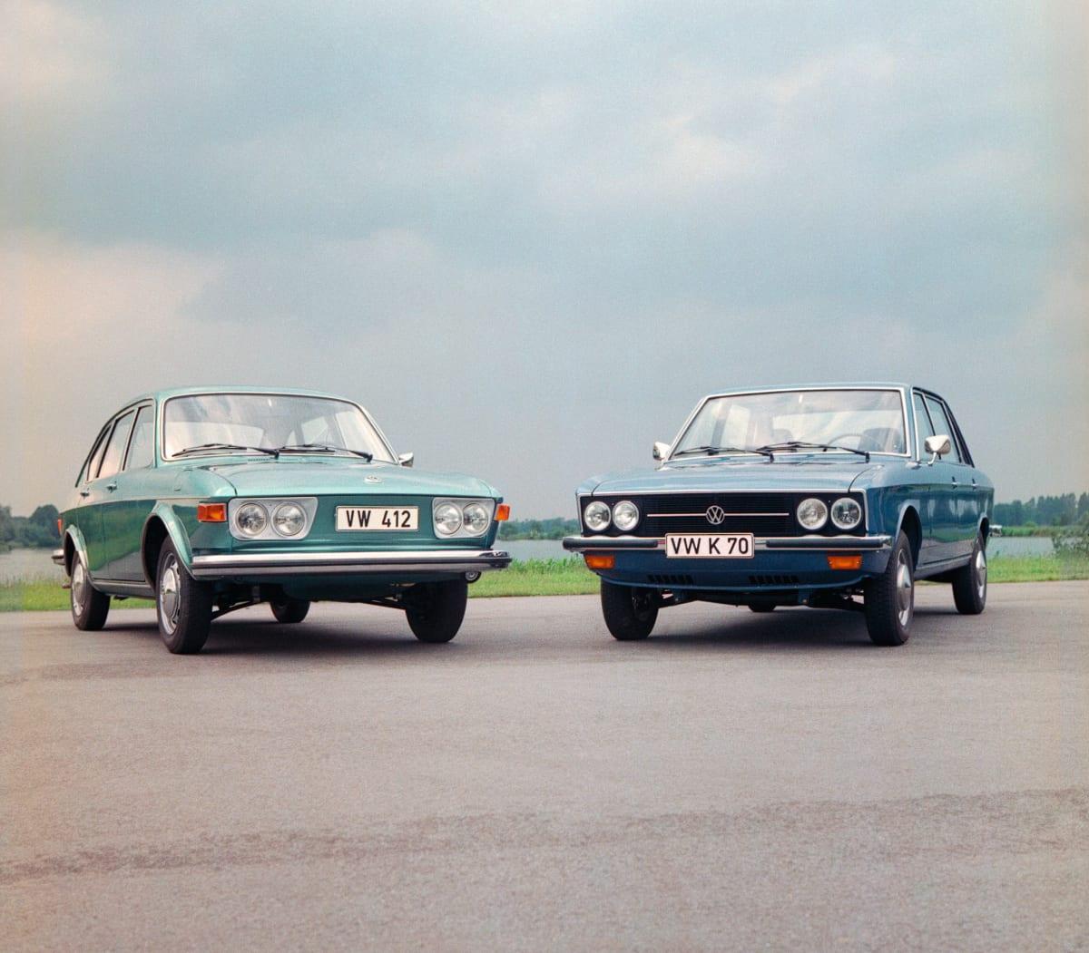 Volkswagen 412 and K70