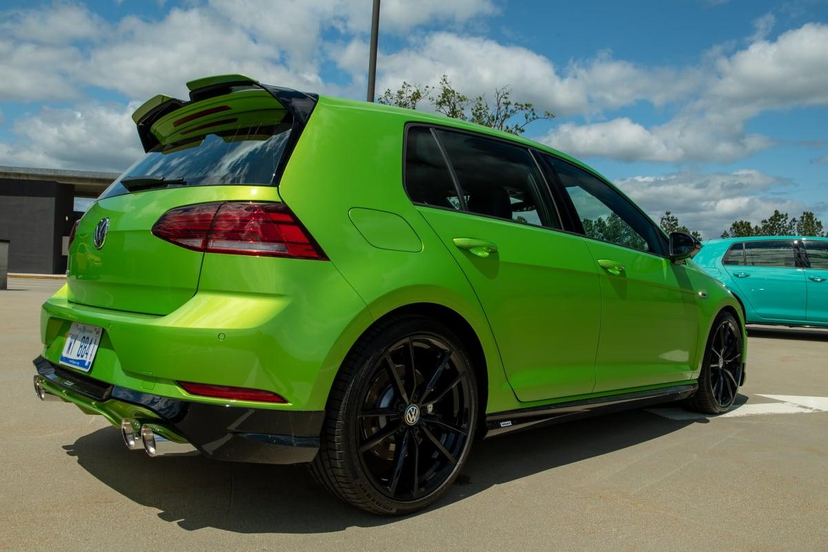 VW Spektrum Golf R in Viper Green Metallic