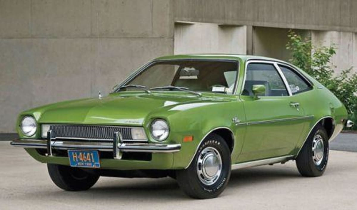 The American industry realized that the market needed smaller cars in a world of fuel shortages and responded with cars such as the Ford Pinto... Cray