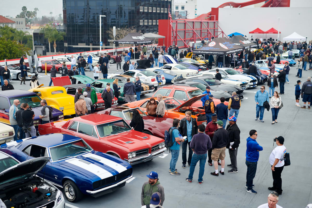 Bruce Meyer's All-American Cruise-In January 2020