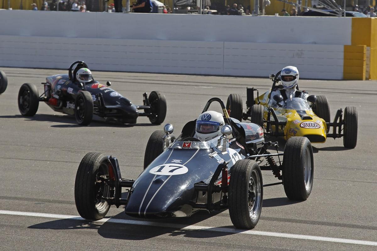 Modern Formula Vee Racing at Daytona International Speedway
