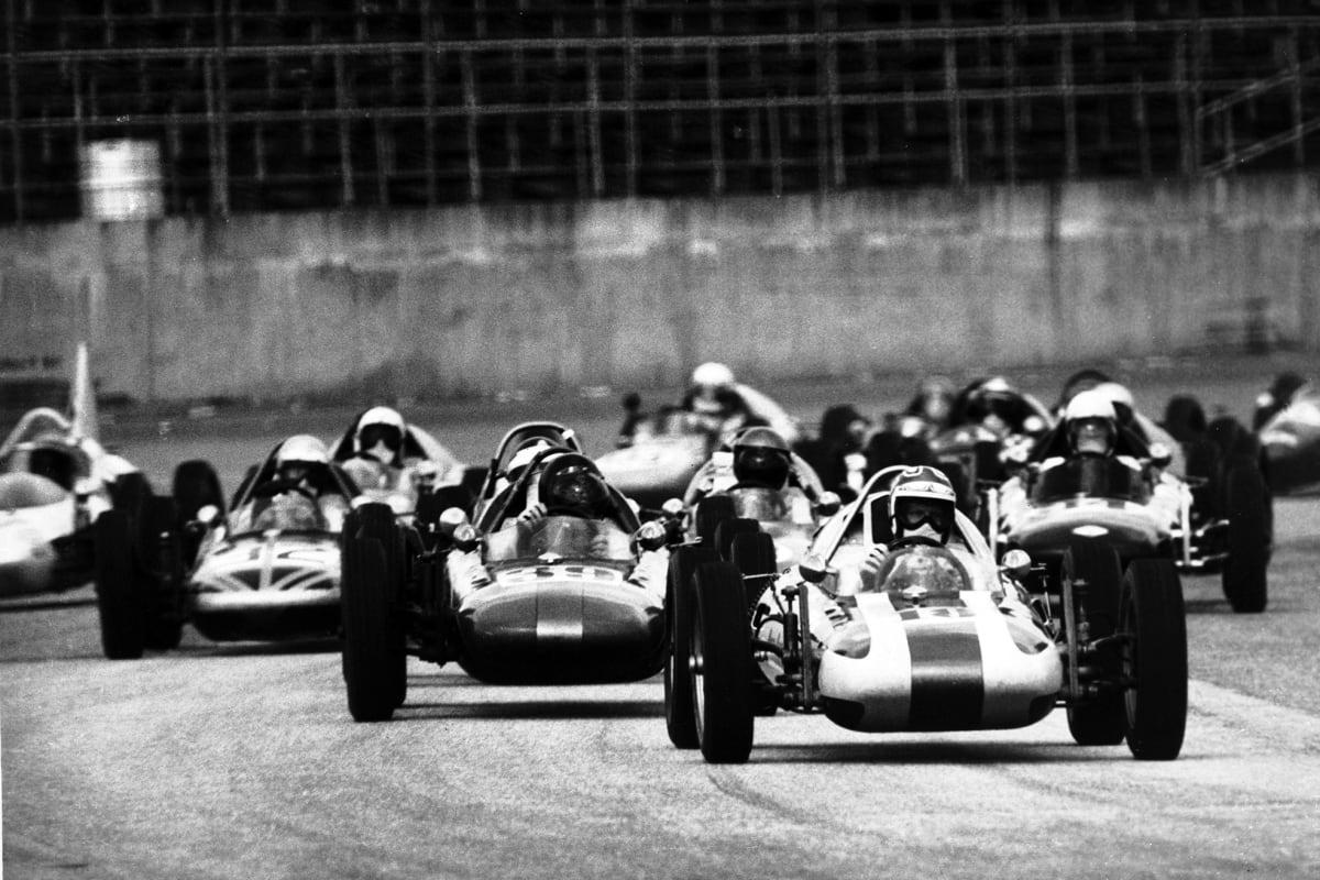 Formula Vees at Daytona in the 1960s