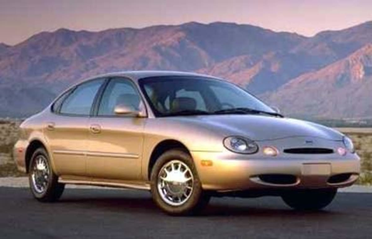 """The 1996 Taurus. Ford engineers are quoted as having kept their two Cray supercomputers """"running night and day"""" as they researched for """"more precise steering, smoother operation, and less noise, vibration, and harshness (NVH) than previous models…"""" supercomputer"""