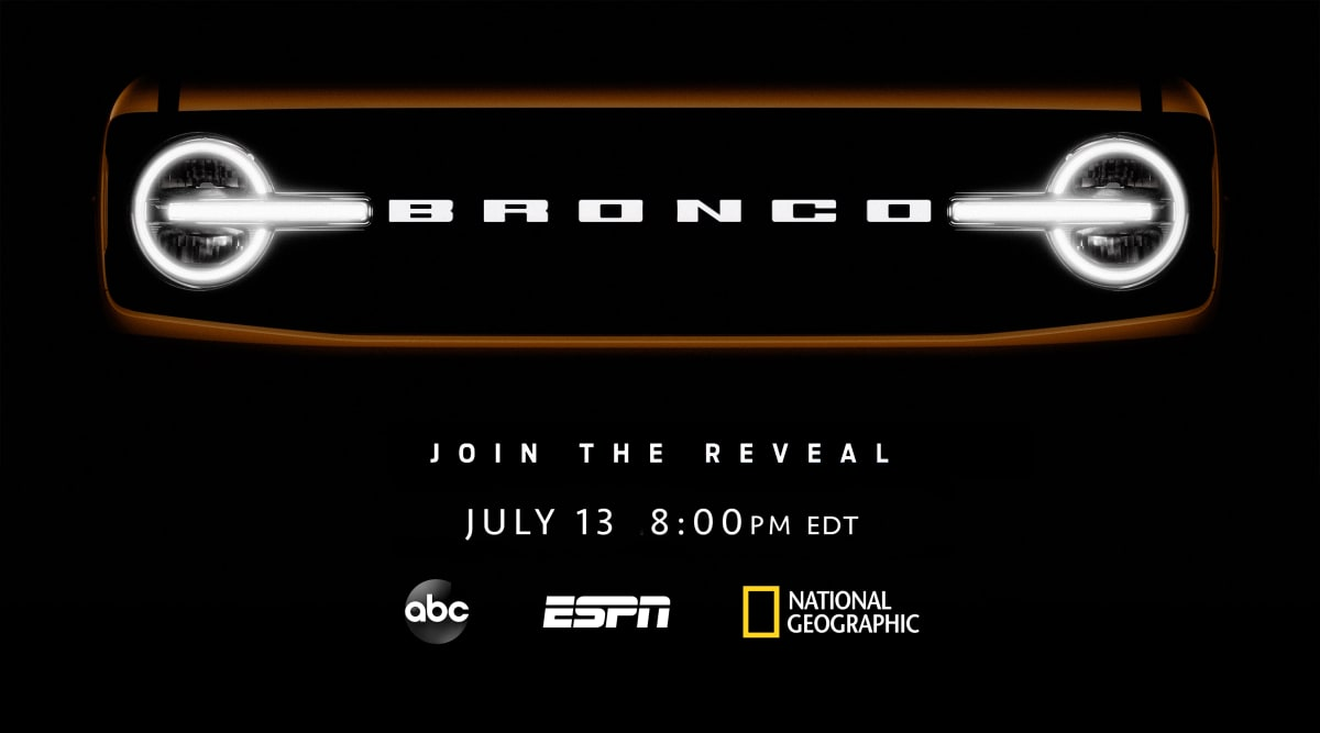 Ford Bronco reveal information