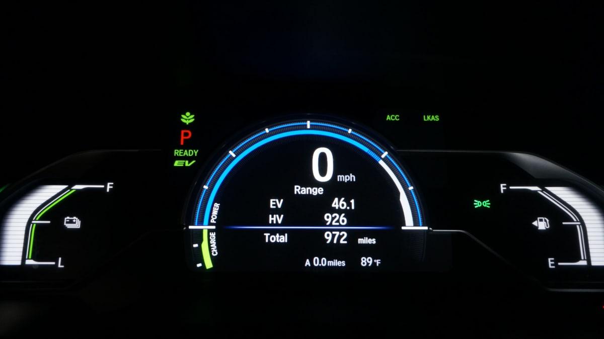 Honda Clarity Plug-in Hybrid MID