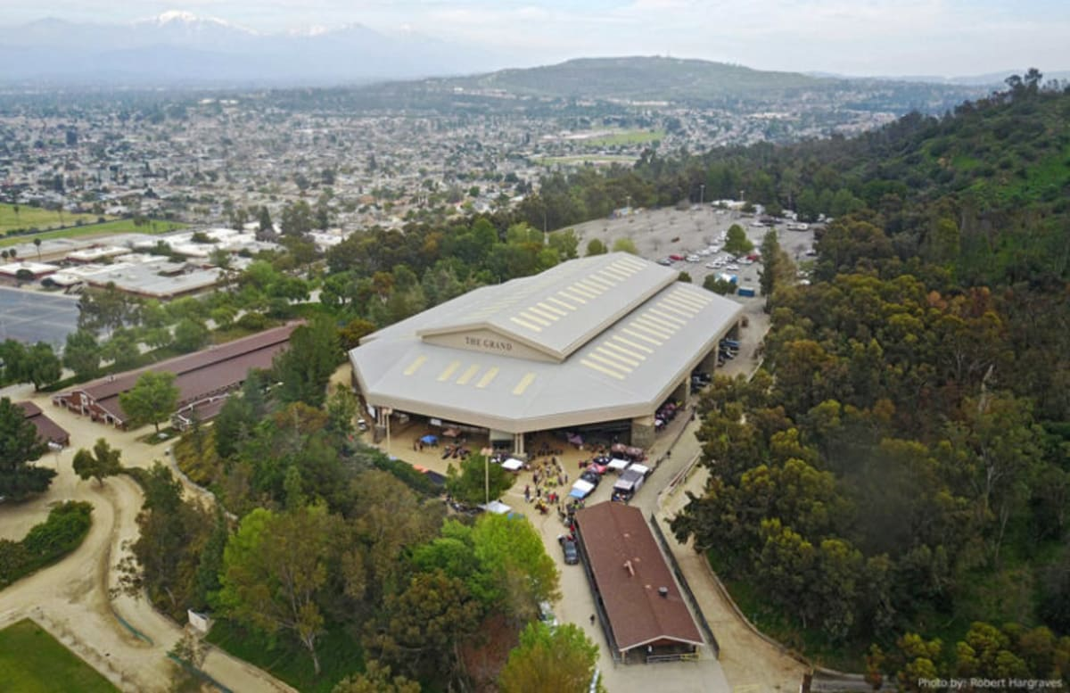 """The Industry Hills Expo Center, otherwise known as """"The Grand"""""""