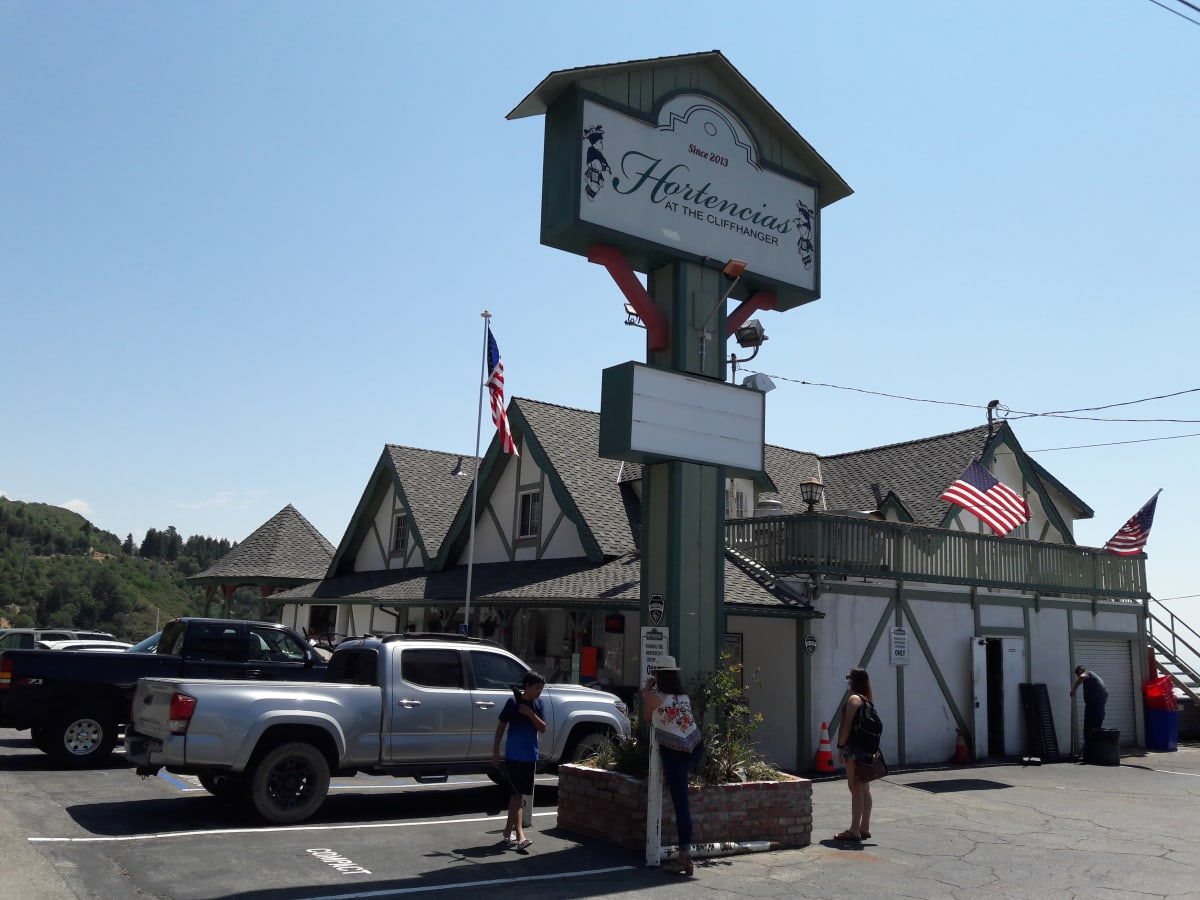 Hortencia's Restaurant at the Cliffhanger