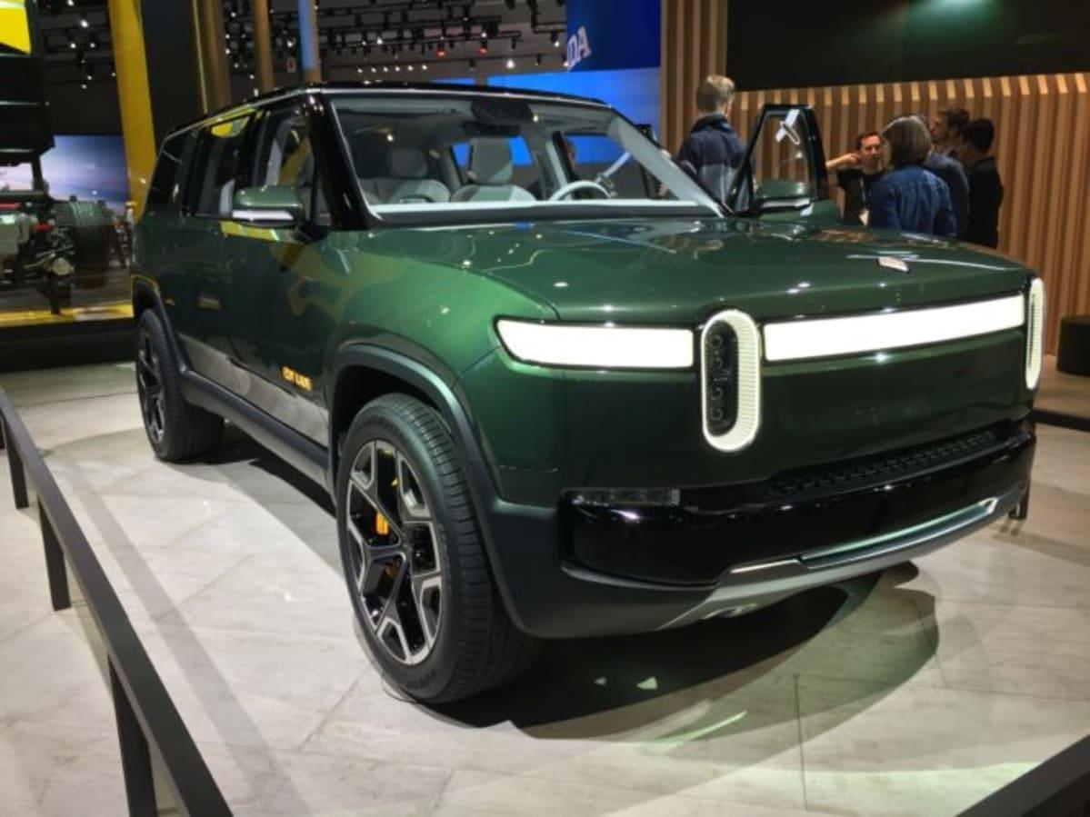The Rivian R1S SUV concept