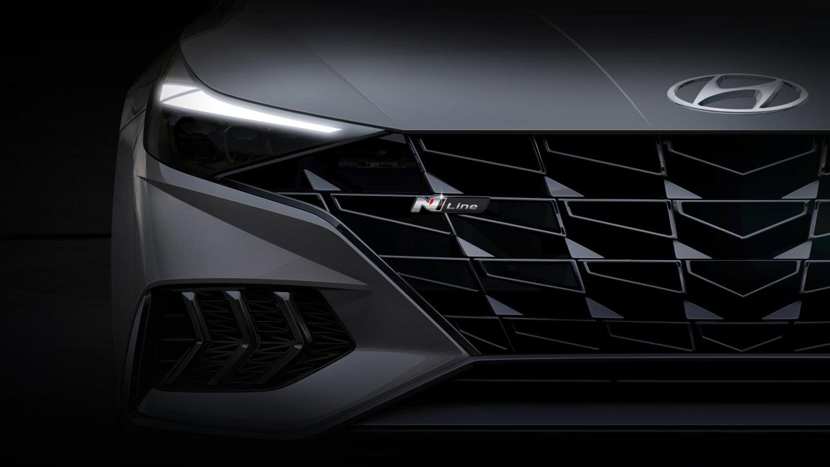 Hyundai reveals render of new Elantra N Line