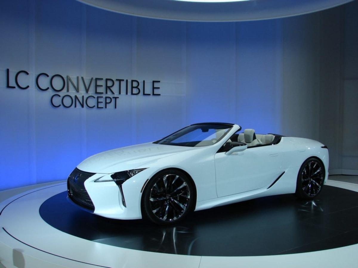Lexus LC Convertible Concept (Mark Dapoz)