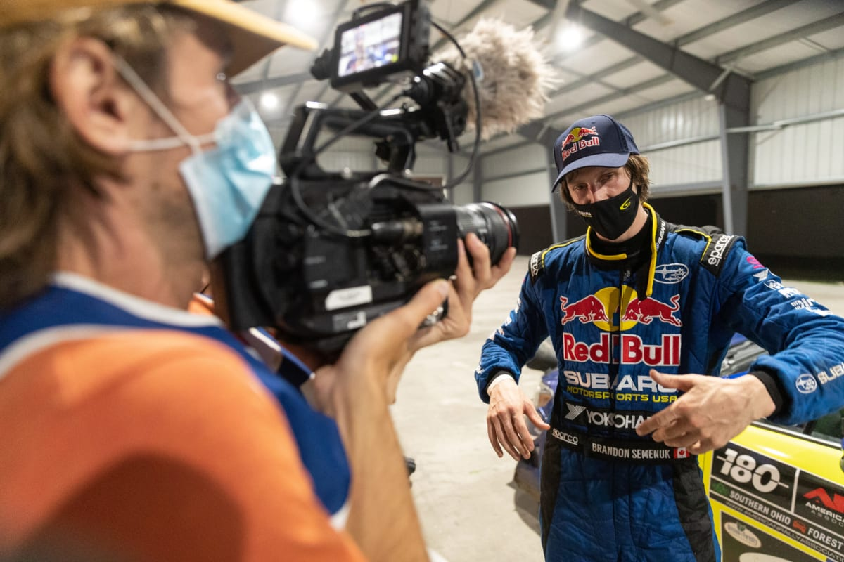 Team driver Brandon Semenuk is a new face in the series for 2020, with his early success helping to power the team back to the top of the podium in the shortened American Rally Association (ARA) season.