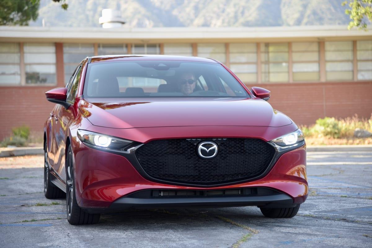 2020 Mazda 3 Hatchback. Photo by Gabriela Moya