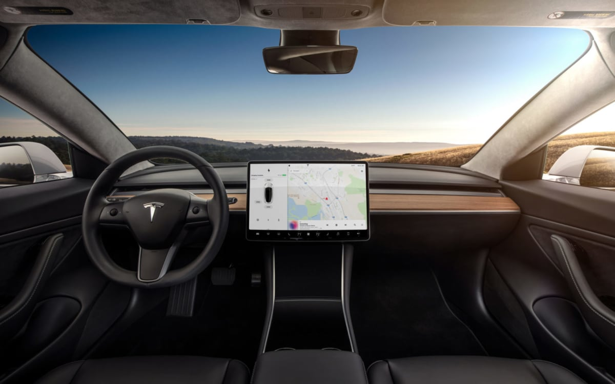 Having virtually all of the dashboard controls on the center screen is a major adjustment (Timothy Artman)