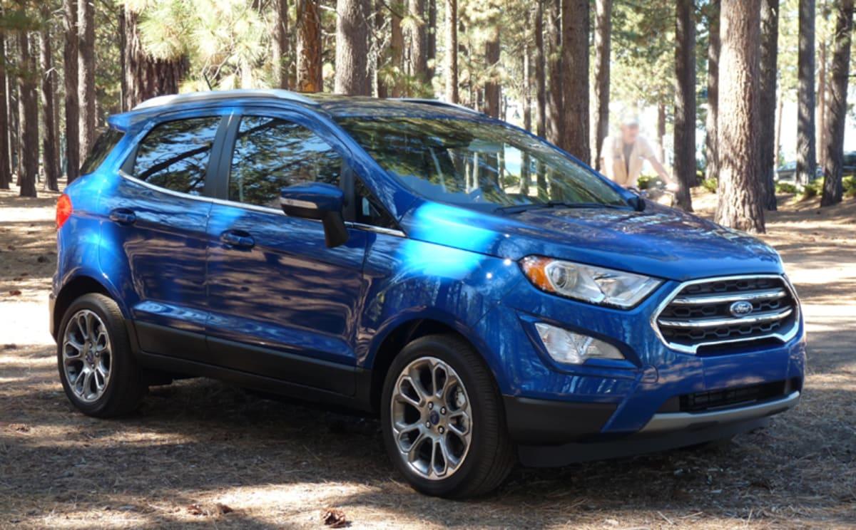 Ford Ecosport Titanium in the Tahoe wilderness