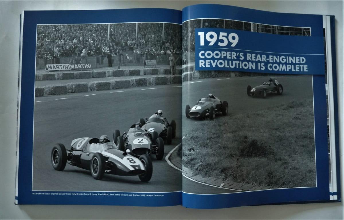 formula 1 racing cars book