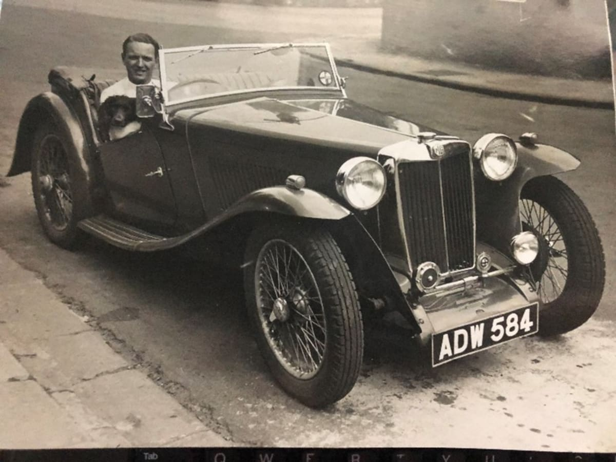 My father proposed to my mother with this actual photo. Newport, Wales 1938