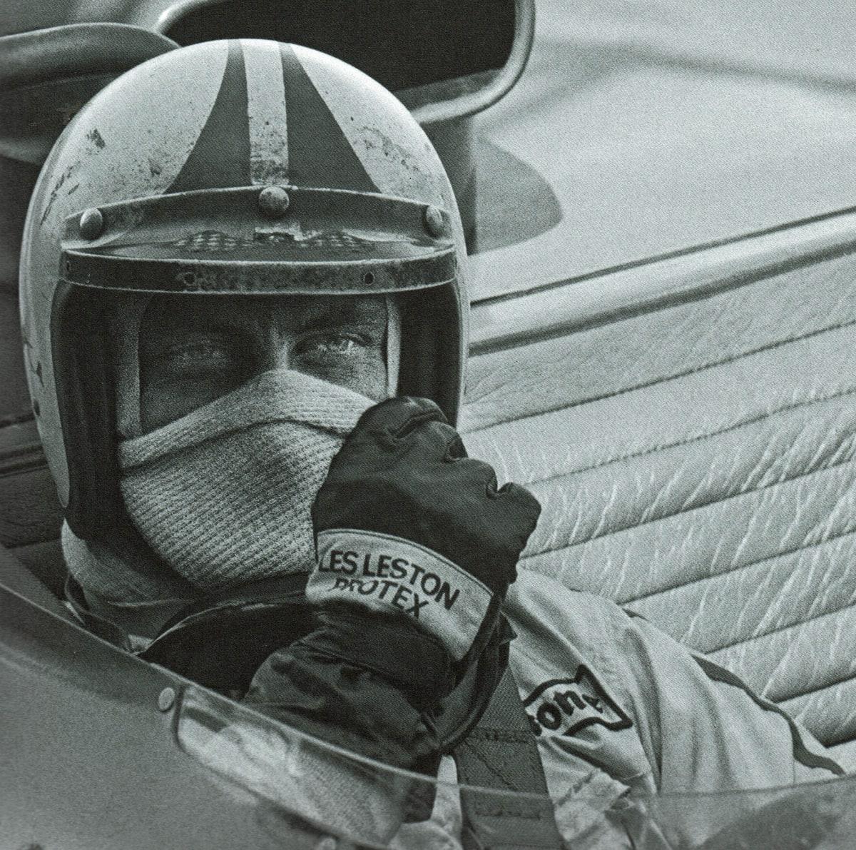 Legendary driver Chris Amon.