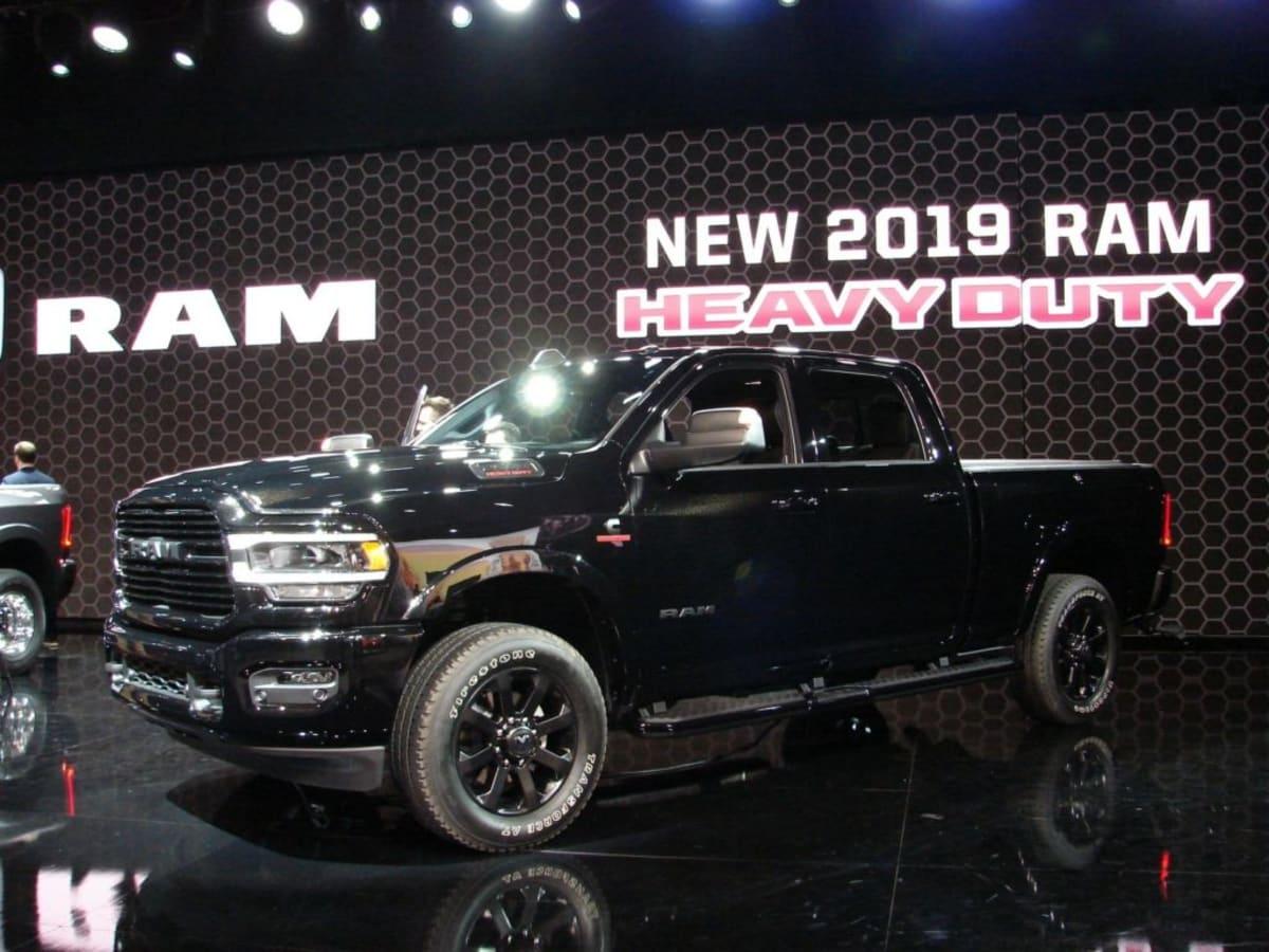 A new RAM 2500 Laramie in black (Mark Dapoz)