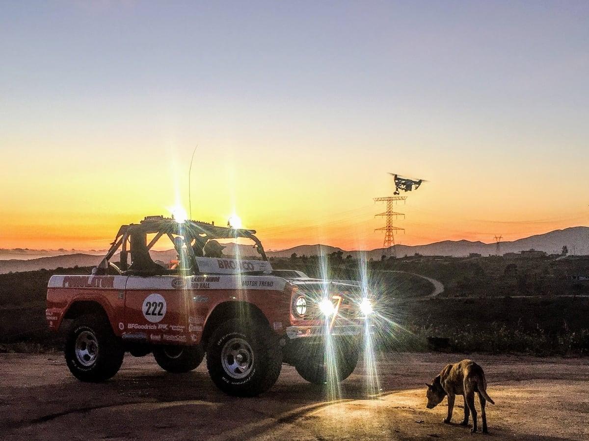 Rod Hall's Ford Bronco