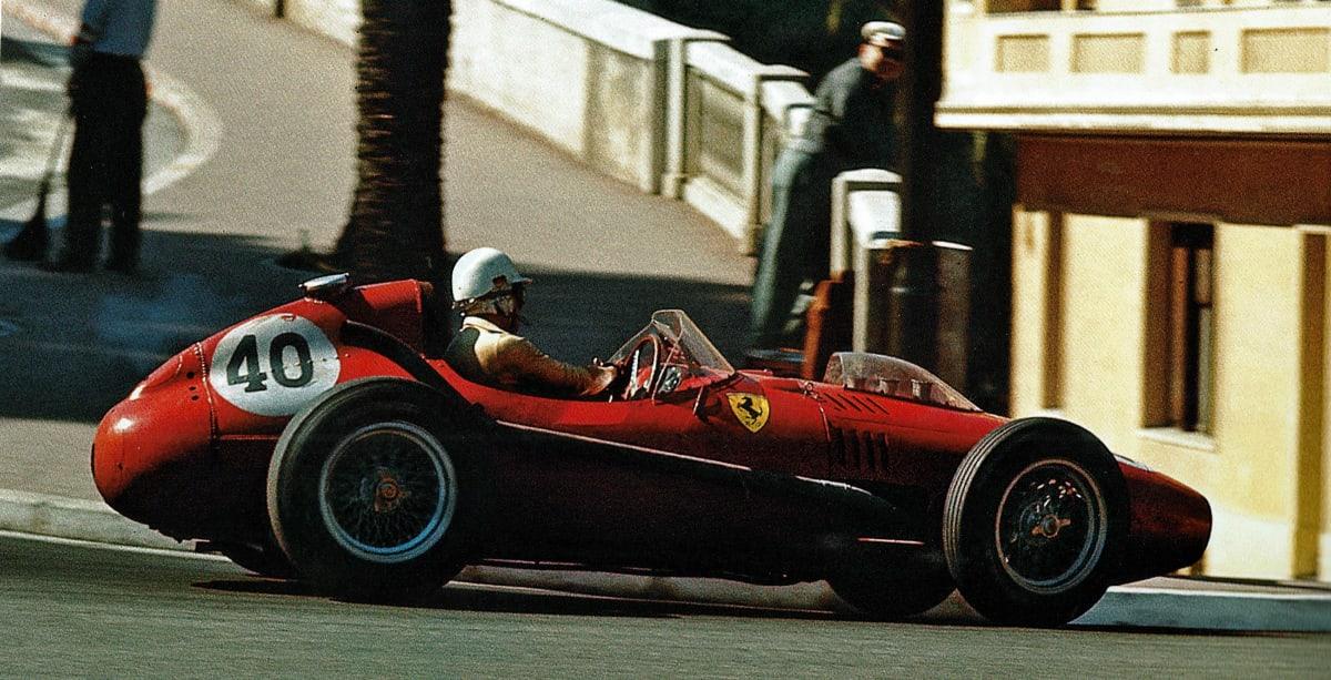 red formula 1 race car ferrari monaco