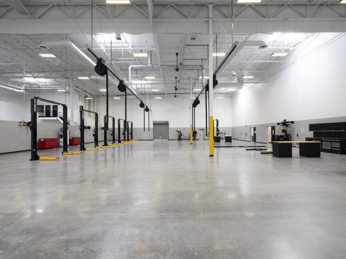 Volkswagen Group's new Oxnard Engineering Campus boasts large visitor workshops