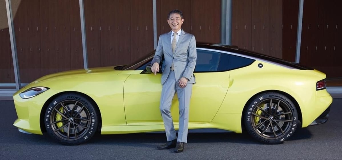 From Yokohama, Japan via ZOOM. Nissan Chief Product Specialist, Hiroshi Tamura-san peeled back the curtain and unveiled the Z400 prototype.