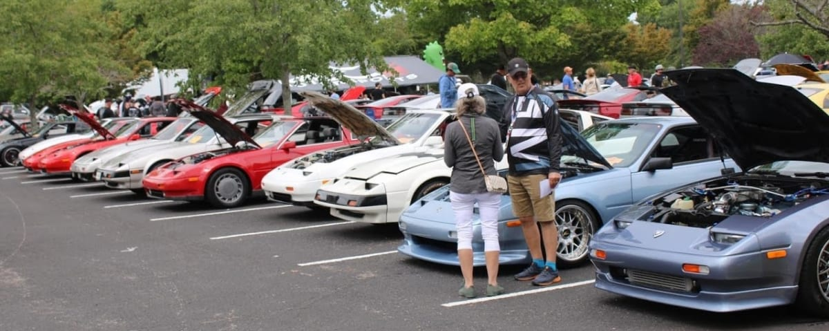 The Z31 group in full force.