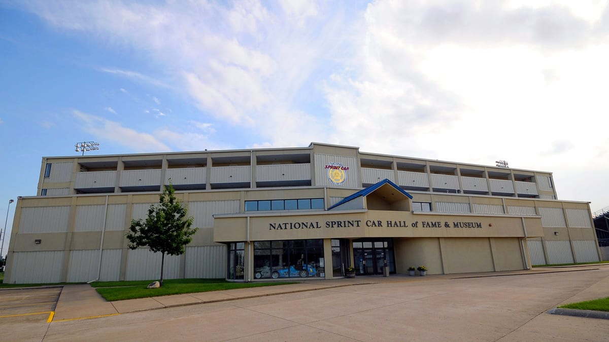National Sprint Car Hall of Fame & Museum in Knoxville, Iowa.