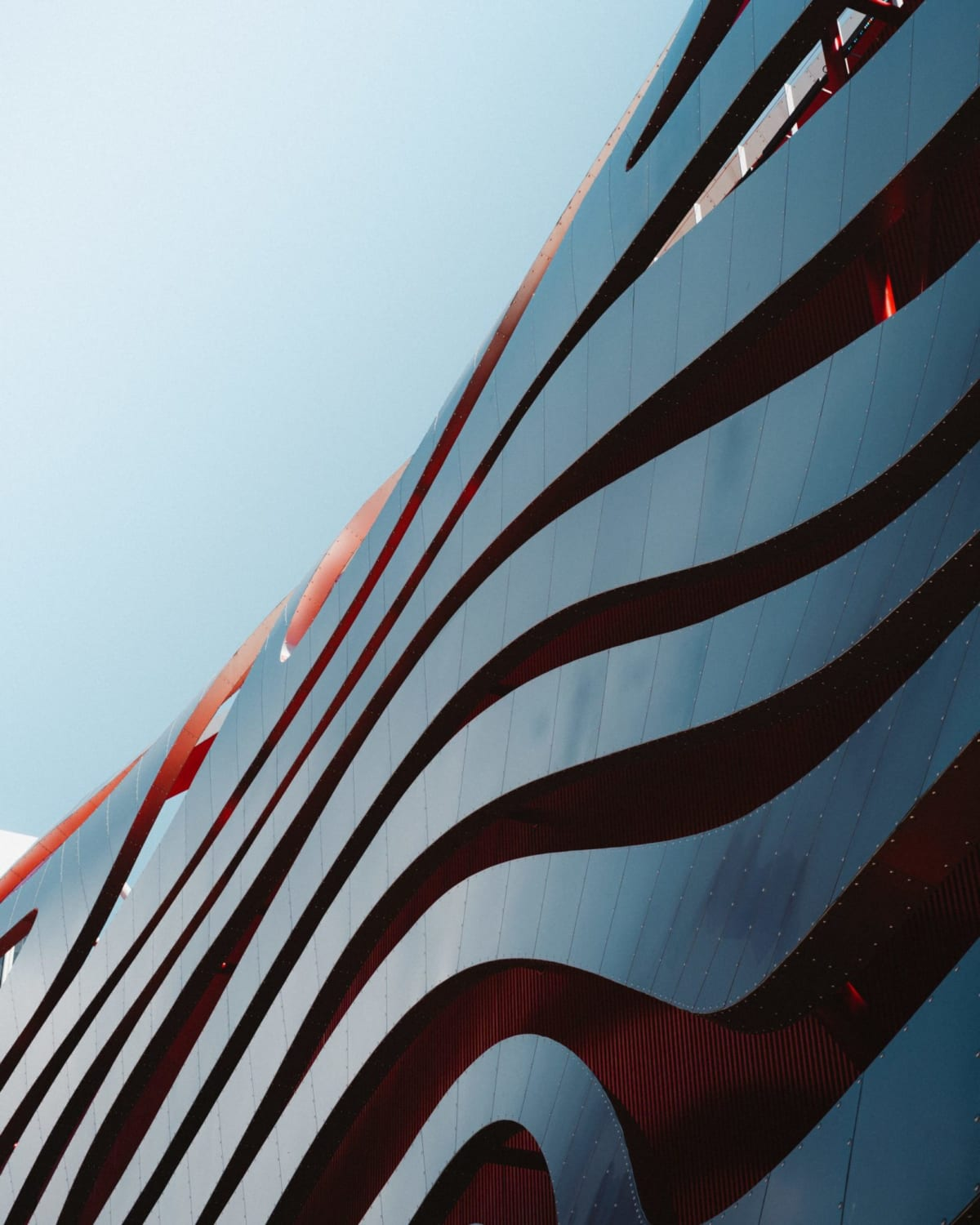 The Petersen Automotive Museum (photo by Austin Poon)