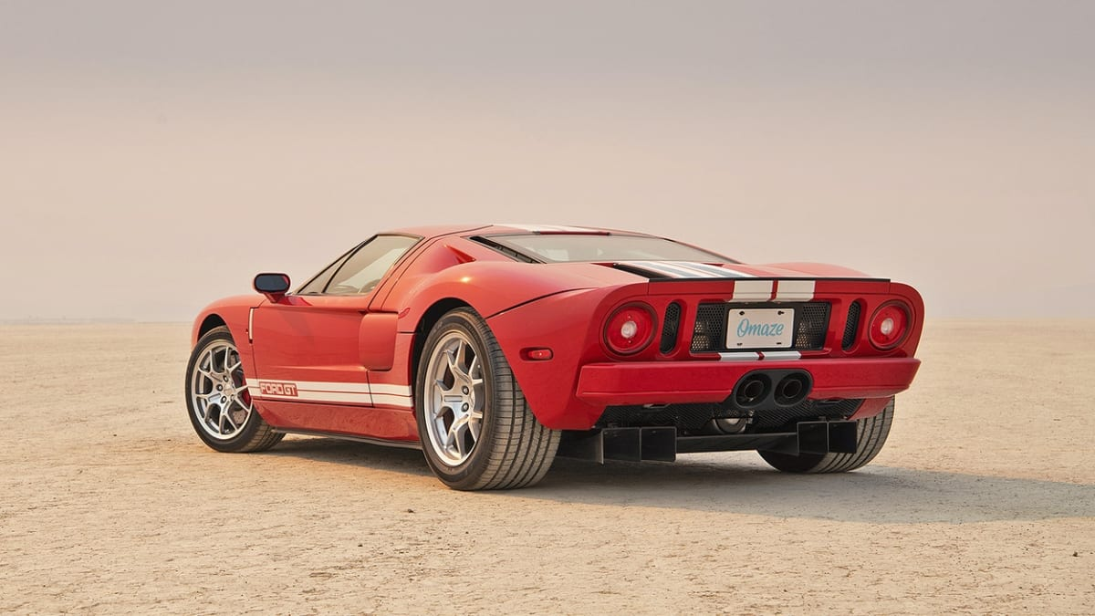 You could win this 2005 Ford GT from Omaze and support the Petersen!
