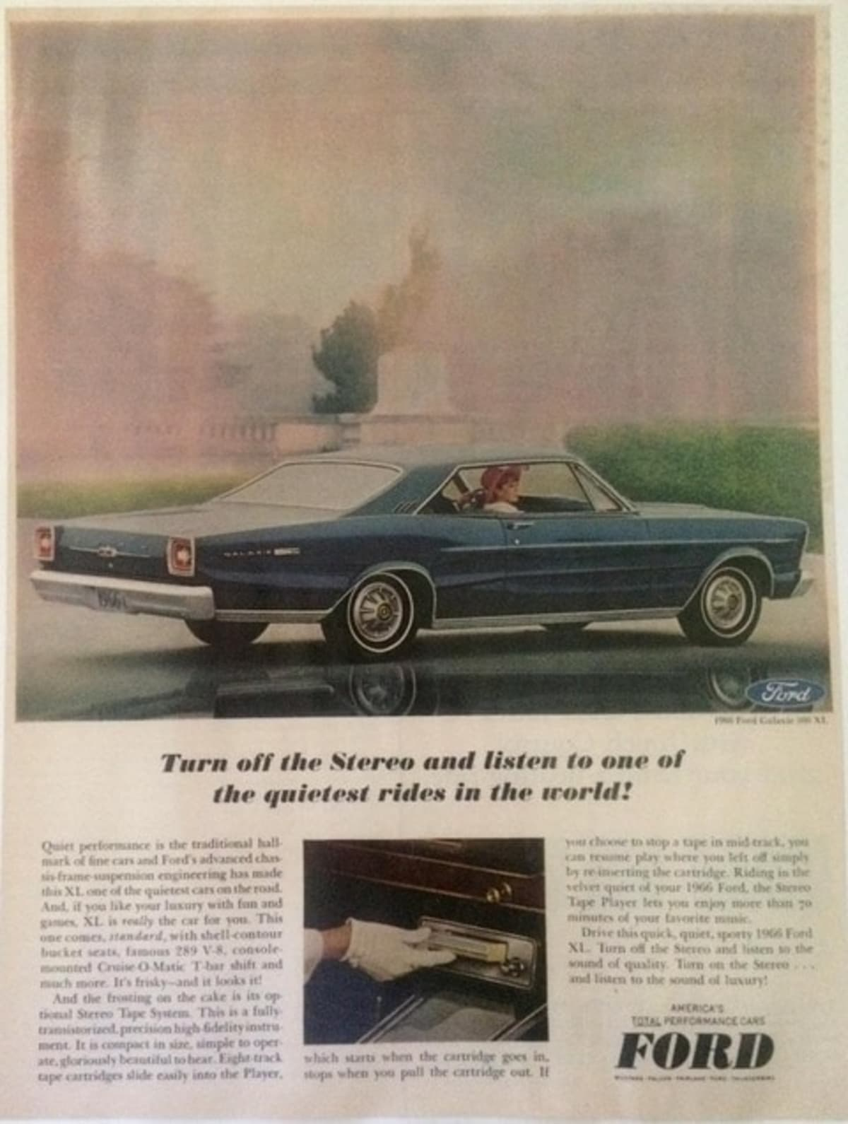 Ford Galaxie Advertisement
