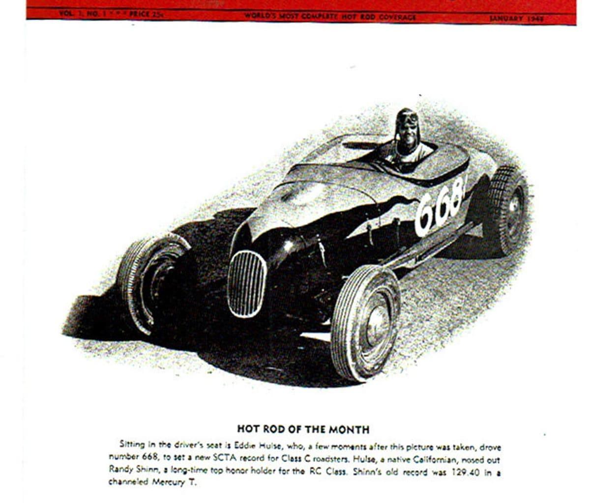 Hot Rod Magazine No. 1 in 1948