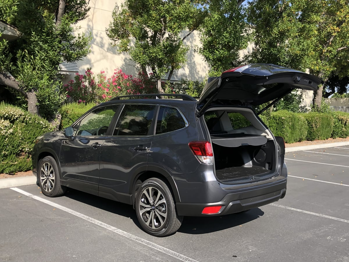 grey car suv family car